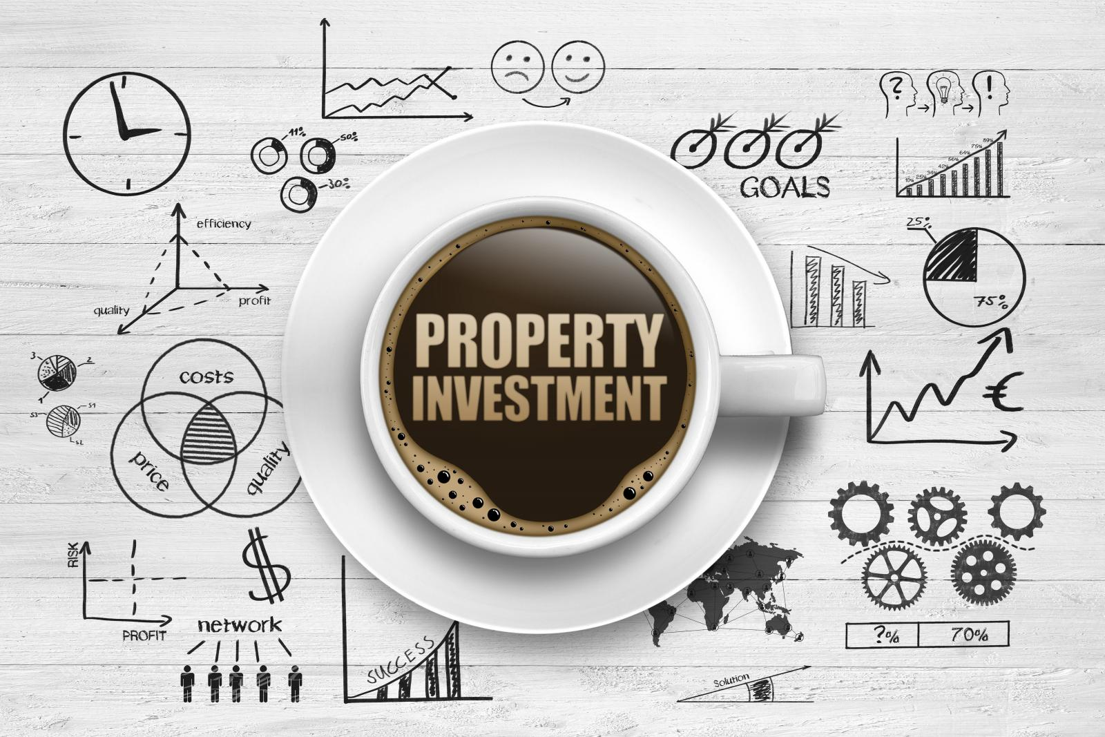 Property Investment coffee Cup